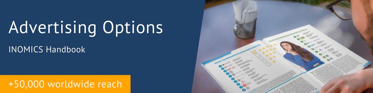 Advertising Options - INOMICS Handbook