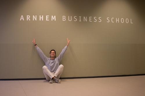 Tommaso Mondovi at Arnhem Business School, HAN University of Applied Sciences