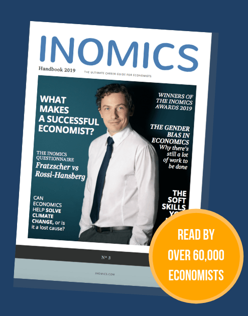 INOMICS Handbook 2019 - The Ultimate Career Guide for Economists