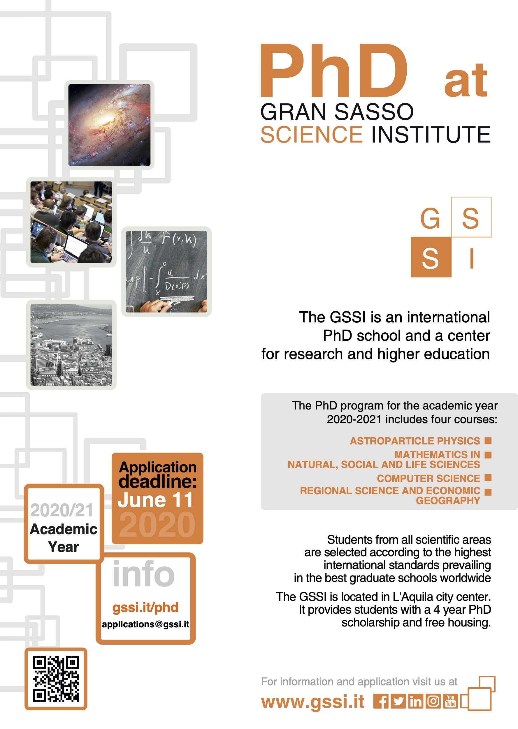 GSSI PhD Ad