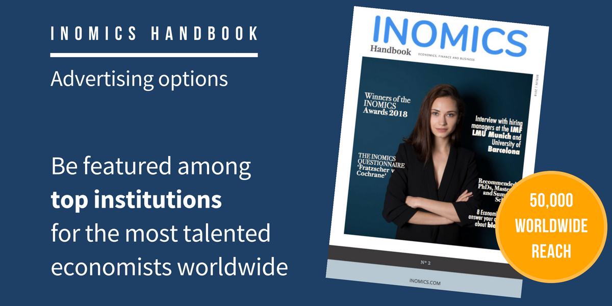 INOMICS Handbook 2019 Advertising Options