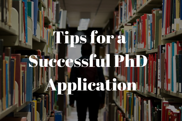 tips for a successful phd application