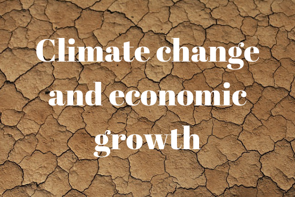 climate change and economic growth