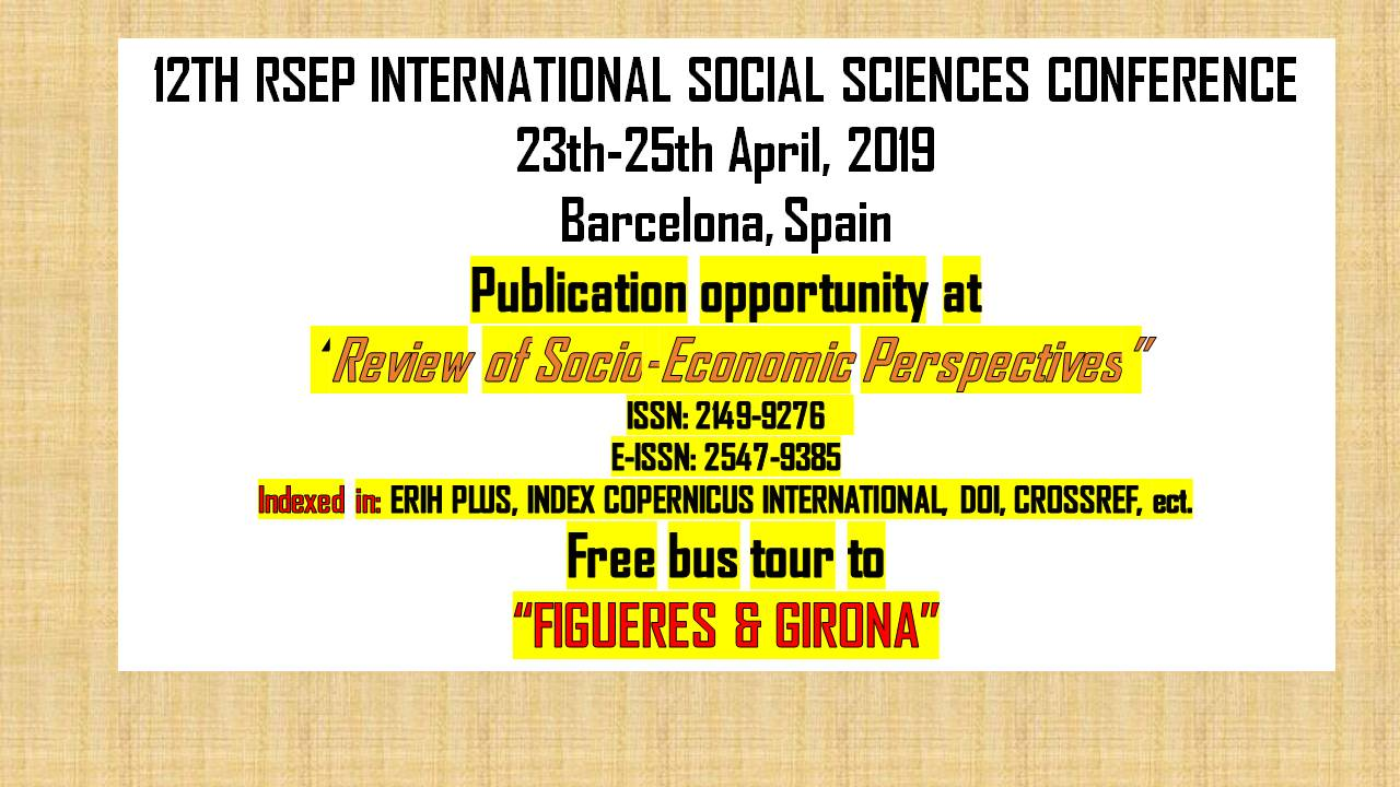 RSEP Conference - Barcelona 2019