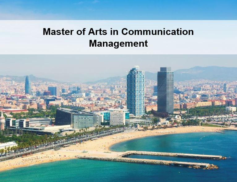 Master of Arts in Communication Management
