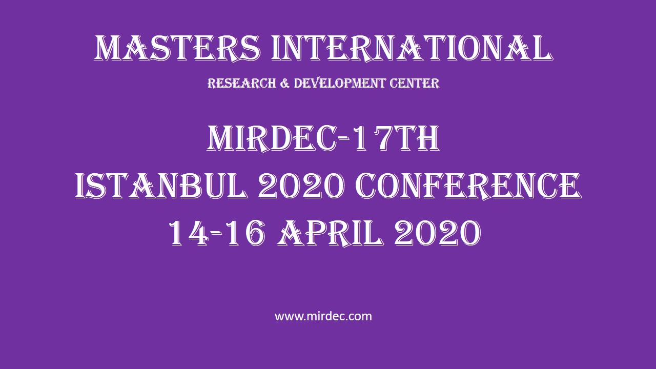 MIRDEC conference 2020 istanbul