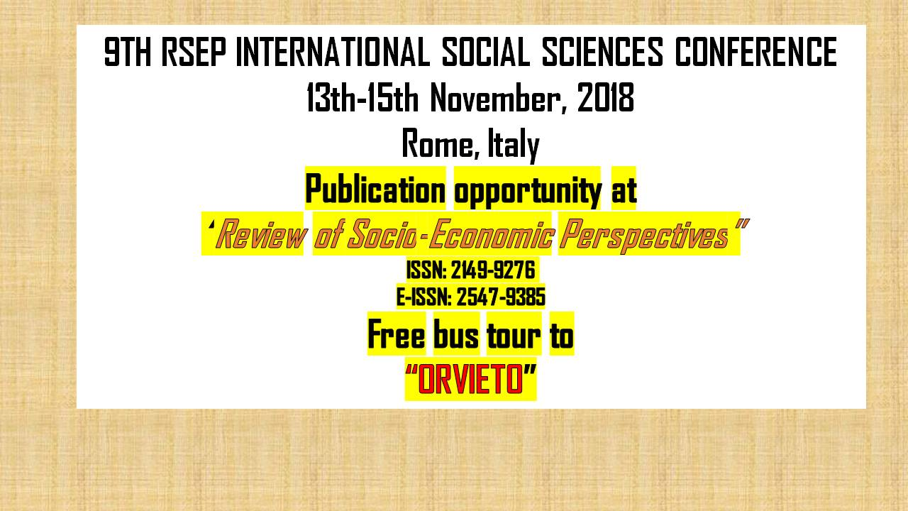 RSEP Conference - Rome 2018