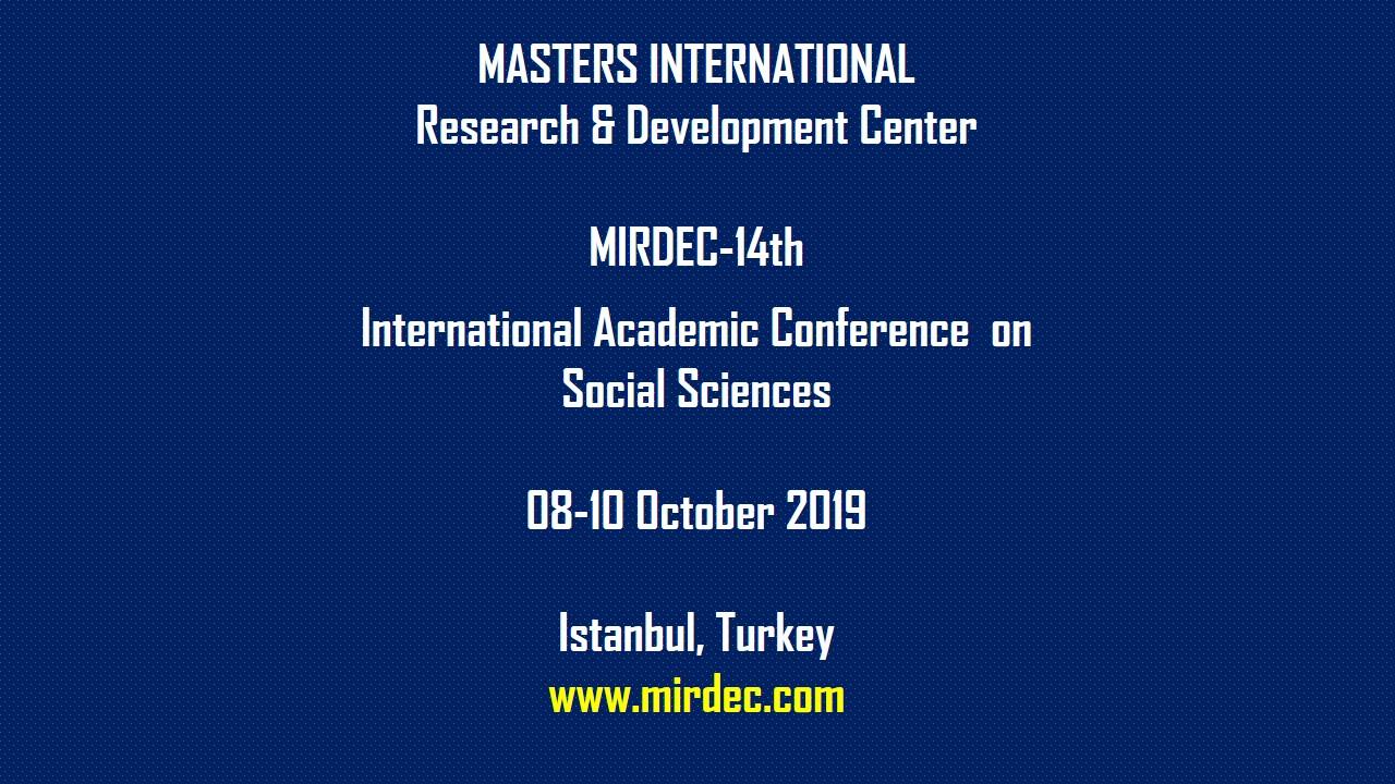 MIRDEC Istanbul 2019