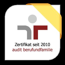 audit berufundfamilie seit 2010