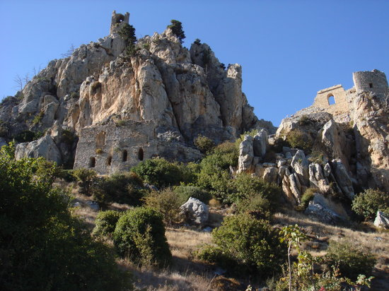 St. Hilarion Castle, Northern Cyprus. Do you feel the Game of Thrones vibe?