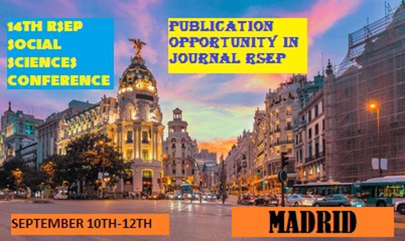 RSEP Conference - Madrid September 2019