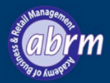 Logo for Academy of Business and Retail Management