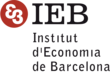 Logo for INSTITUT D'ECONOMIA DE BARCELONA (IEB)