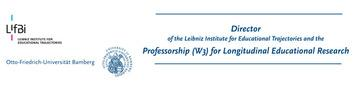 Header mage for University of Bamberg and the Leibniz Institute for Educational Trajectories (LIfBi)