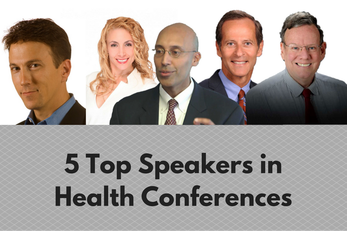 5 Top Speakers in Health Conferences