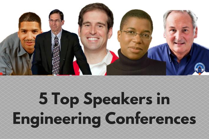 5 Top Speakers in Engineering Conferences
