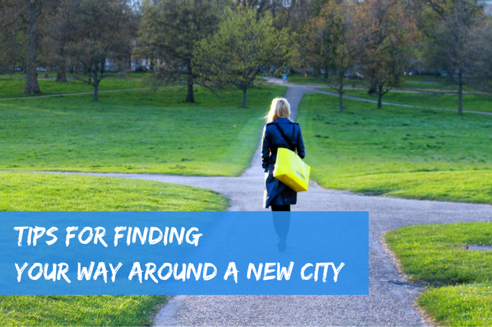 Tips for finding your way around a new city