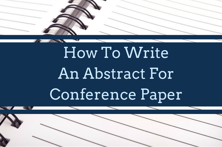 How to write an abstract for master