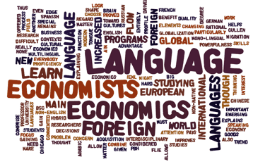 Why study Economics in a Foreign Language?