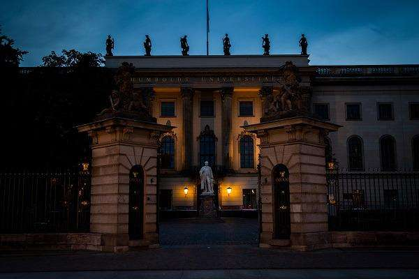 Hiding 'Unter den Linden' - Humboldt University Berlin, Germany