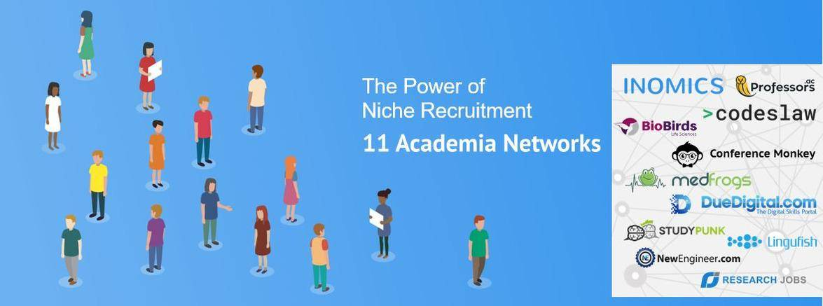 Introducing 11 Academia Networks
