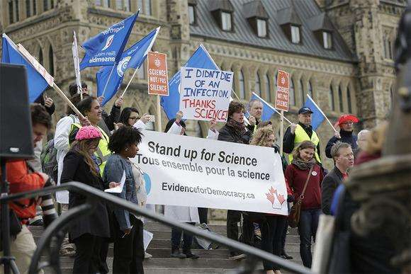 Why are Canada's scientists getting political?