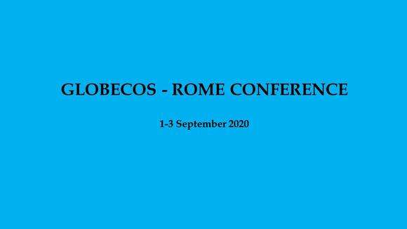 GLOBECOS Rome 2020-2, Social Science Conference
