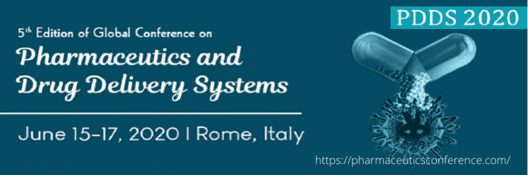 5th Edition of Global conference on Pharmaceutics and Drug Delivery Systems