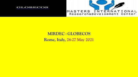 MIRDEC & GLOBECOS Rome 2021, Social Science Conference