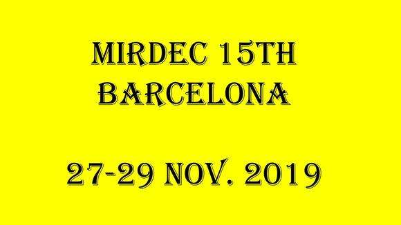 Mirdec 15th, Barcelona, Conference on Economics, Business, Globalization and Social Science